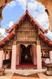 Ancient viharn of lanna style temple Royalty Free Stock Photo