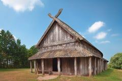Ancient Viking Dwelling Royalty Free Stock Photos