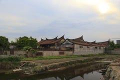 Ancient villa liantangbieshu Stock Photos