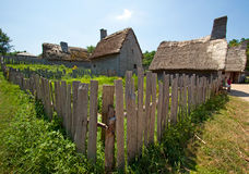 Ancient village. Royalty Free Stock Photos