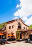 Ancient village Altos de Chavon - Colonial town Stock Photo