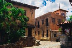 Ancient village Altos de Chavon - Colonial town Royalty Free Stock Photo