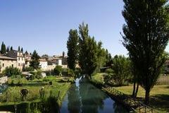 Ancient village of bevagna Stock Image
