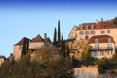 Ancient village of Beynac, dordogne, France Stock Image