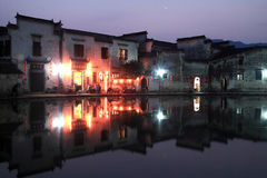 Ancient village in China Royalty Free Stock Photos