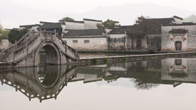 Ancient village in China Stock Images