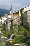 Ancient village in Liguria region of Italy royalty free stock photo