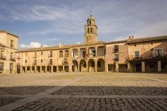 Ancient village of Medinaceli in Soria Stock Photo