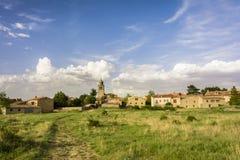 Ancient village of Medinaceli in Soria Stock Photos