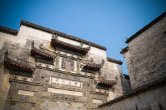 Ancient village. The Ancient village named Hong Village which bulit in 1130s in China Royalty Free Stock Photos