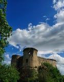 Ancient village of Prata Sannita. Old medieval castle in Sunni prata, a small town in Campania Stock Photos