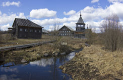 Ancient village, Russia Stock Image