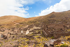Ancient village of San Antonio de Lipez Stock Photography