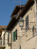 The ancient village of Scacciati in Palestrina - Rome Stock Image