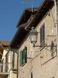 The ancient village of Scacciati in Palestrina - Rome Stock Image