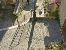 The ancient village of Scacciati in Palestrina - Rome Stock Photos