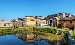 China`s remote rural areas Stock Photo