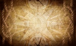 Ancient vintage adventure background. Science, education, travel, vintage background. History and geography team royalty free stock photography