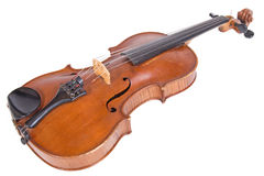 Ancient viola. On a white background Royalty Free Stock Photos