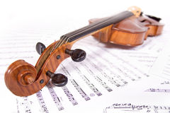 Ancient viola Stock Images