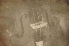 Ancient violin Royalty Free Stock Images