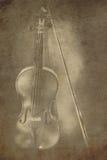 Ancient violin Stock Photography