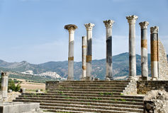 Ancient Volubilis, Morocco Stock Images