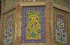 Ancient Wall Art. Mughal era wall art – Chauburji Lahore, Pakistan. Chauburji was built in 1646 C.E Royalty Free Stock Photo