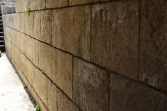 Ancient wall in Banias, Israel Royalty Free Stock Photos