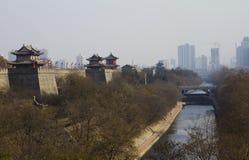 Ancient wall in china Royalty Free Stock Image