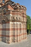 Ancient wall of the church. Royalty Free Stock Images
