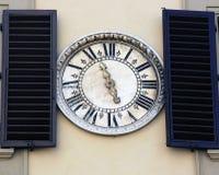 Ancient wall clock Stock Image