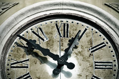 Ancient wall clock Stock Photos