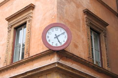 Ancient wall clock Stock Photography