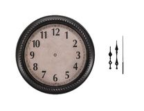 Ancient wall clock on a white background. Stock Image