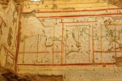 Ancient Wall Decorations Stock Images