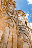 Ancient wall of Duomo di Monreale, Sicily, Italy Royalty Free Stock Images
