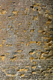 Ancient wall of a fortress Carcassonne. France Royalty Free Stock Photography