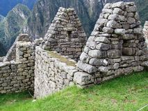 Ancient wall at Machu Picchu Stock Image