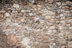 Ancient wall made of old stones Royalty Free Stock Images