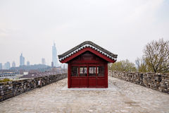 Ancient wall in Nanjing Royalty Free Stock Photography