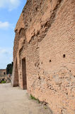 Ancient wall on Palatine Hill Royalty Free Stock Photography