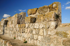 Ancient wall. Royalty Free Stock Photos