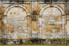 Ancient wall-ruins Royalty Free Stock Images