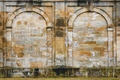 Ancient wall-ruins Royalty Free Stock Images