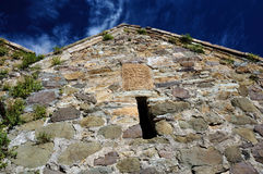 Ancient wall Srbanes monastery in Armenia Royalty Free Stock Photography
