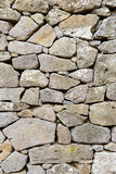 Ancient Wall of Stones Royalty Free Stock Photography