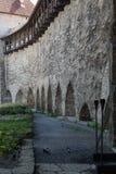 Ancient Wall in Tallinn Royalty Free Stock Photo