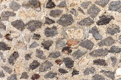 Ancient Wall texture and background from Pompeii. Italy royalty free stock image