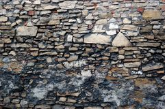Ancient wall texture Royalty Free Stock Images